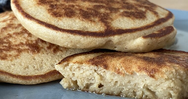 High Protein Oat Pancakes – Out of this World!